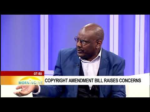 Proposed Copyright Amendment Bill to amend current Copyright Act