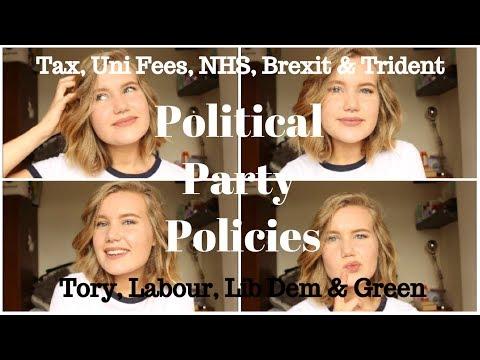 Political Party Policies | Tory, Labour, Lib Dem, Green Mp3