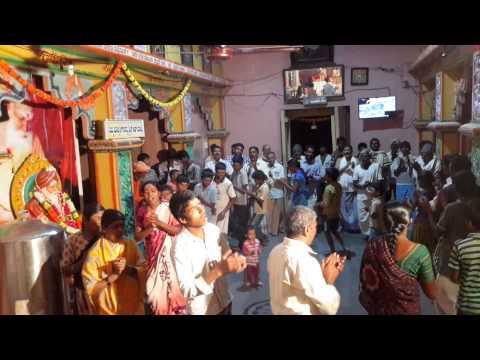 Siddharudha Kathamritha in the holy month of Sharavna Follows Bhajan and Arti