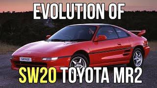 Evolution of the SW20 Toyota MR2