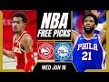 Free NBA Picks Today | Hawks vs Sixers 6/16/21) NBA Best Bets and NBA Predictions