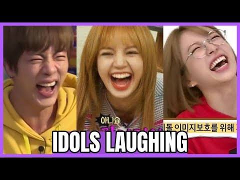 「FUNNY」KPOP IDOLS LAUGH COMPILATION