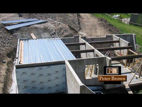 Garage Over a Full Basement Design in Bozeman, MT