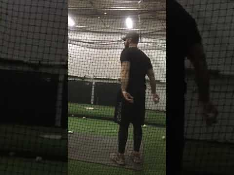 Ty Rhodes Hitting with Casey Smith