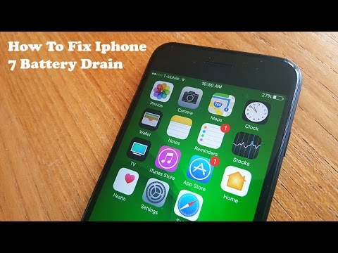 How To Fix Iphone 7 Battery Drain - Fliptroniks.com
