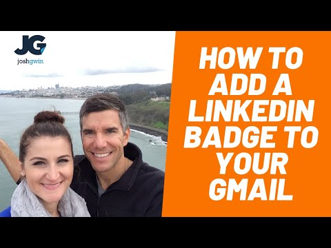 How to Add a LinkedIn Badge to Your Email Signature