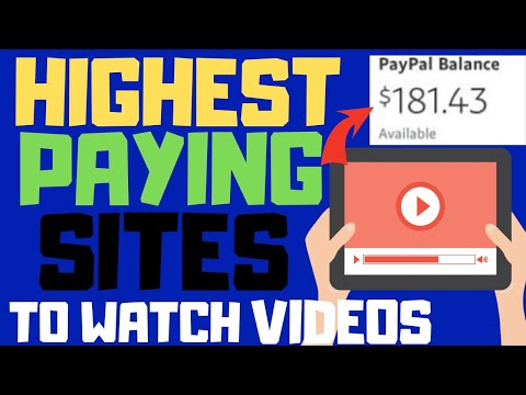 Highest Paying Websites To Watch Videos Automatically (How To Make Money Online 2019)