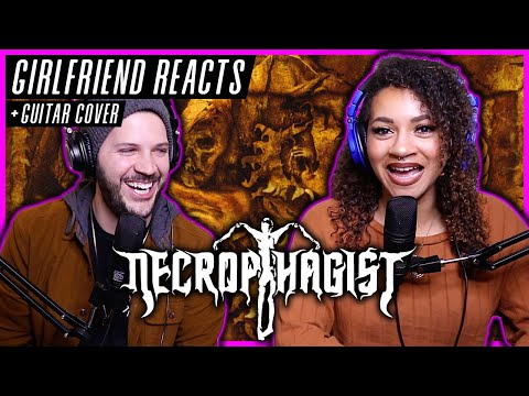 """GF REACTS - Necrophagist """"Fermented Offal Discharge"""" - REACTION / REVIEW + """"Seven"""" GUITAR COVER"""