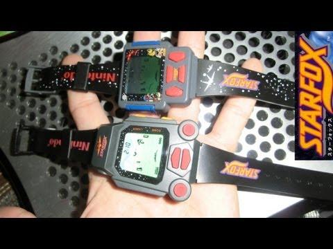 2 Vintage Star Fox Nintendo Game Watches