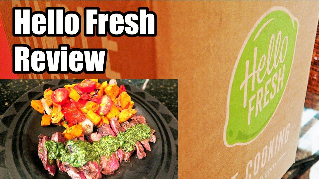 New For Sale  Hellofresh Meal Kit Delivery Service