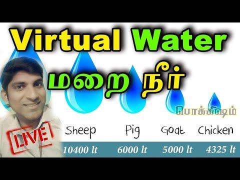 மறை நீர் என்றால் என்ன? | What is Virtual Water | பொக்கிஷம் | தமிழ் | Tamil Pokkisham