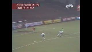ASSE 3-0 (ap) Dynamo Kiev - Quart de finale retour de la Coupe d'Europe 1975-1976