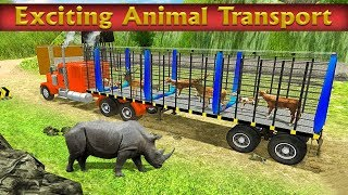 Animal Transport Zoo Edition: Big City Animals Android Gameplay