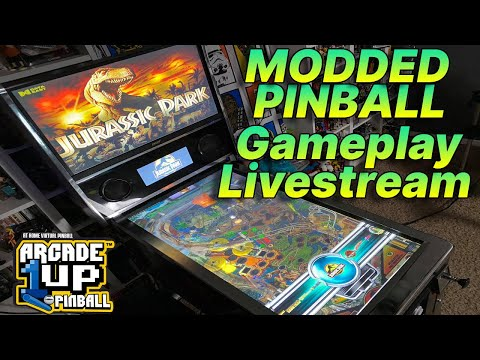 Arcade1Up Pinball Mod -Gameplay Livestream! from COOLTOY