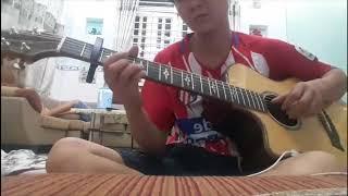 Đắp Mộ Cuộc Tình guitar solo Mitxi Tòng