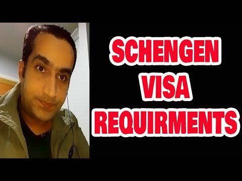 Basic Requirements for Schengen Visa