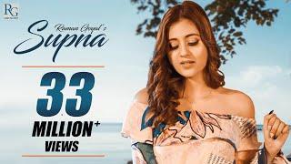 Supna: Raman Goyal Ft.Anjali Arora (Official Song) New Punjabi Song 2020 | Latest Punjabi Songs 2020