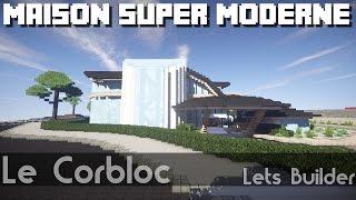 Minecraft Maison Super Moderne Fanfanxd Youtube