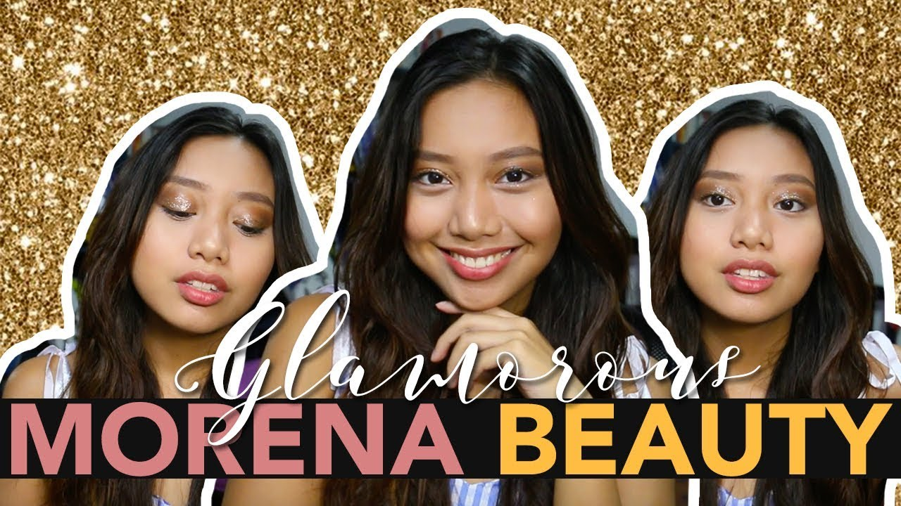 GLAM BEACH BABE HAIR & MAKEUP TUTORIAL | Morena Beauty