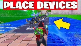 Place Devices on a Creative Island - Day 13 Days of Fortnite Challenges Guide