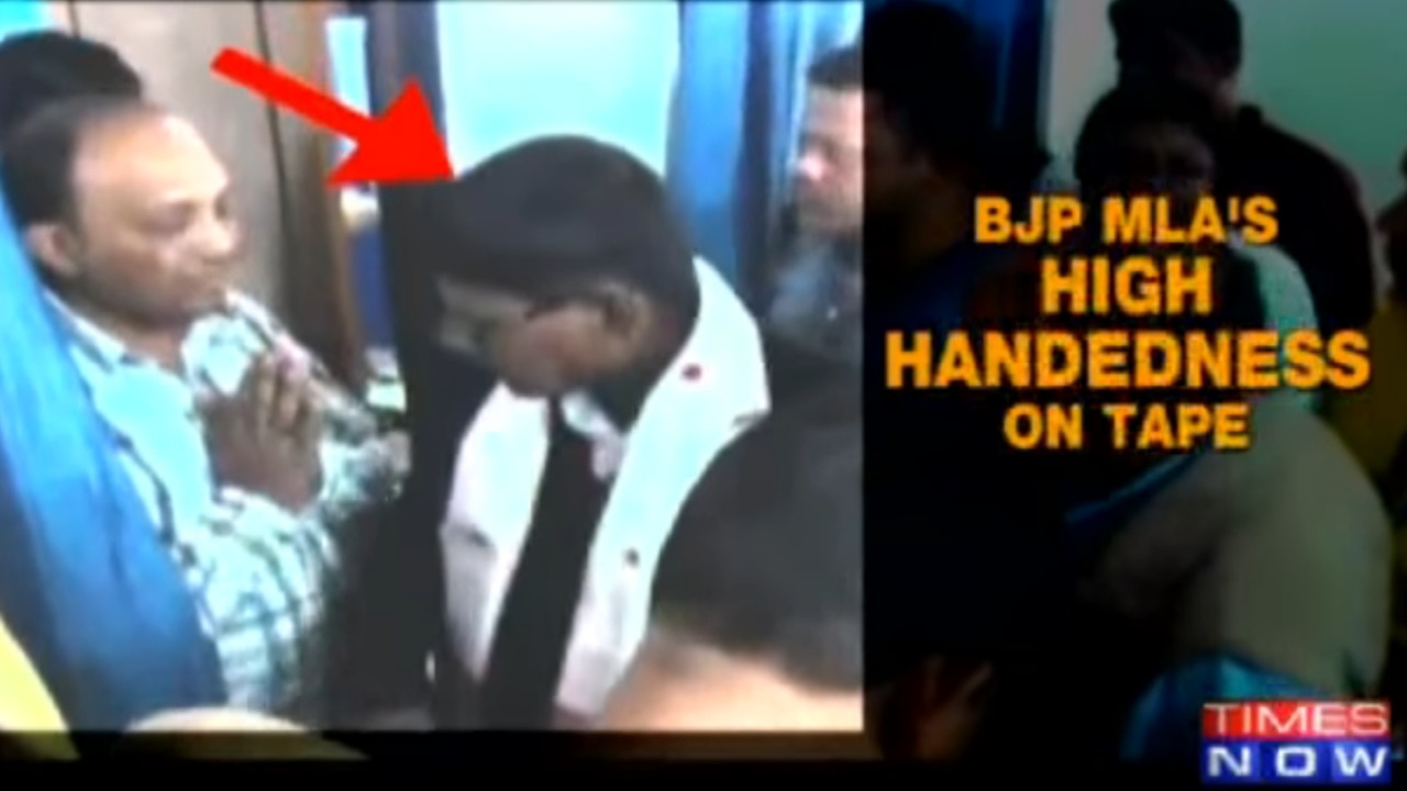 Over Quarrel With Driver, Engineer Asked To Touch Assam BJP Lawmaker's Feet