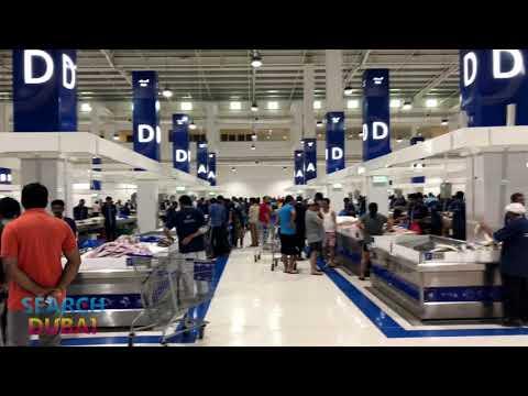 New Deira Fish Market in Dubai