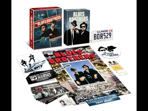 UNBOXING The Blues Brothers Extended Version Deluxe Edition + Verlosung (Unpacking)