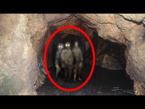 5 דברים מפחידים שצולמו ונתפסו במנהרות