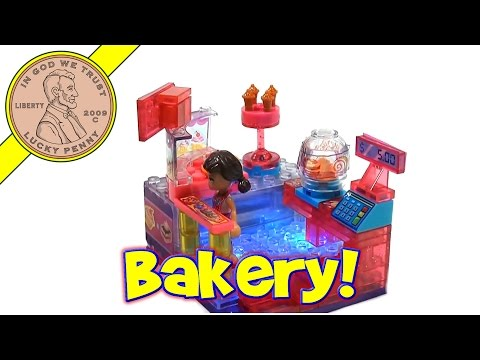 LiteBrix Bakery Kiosk Super Light Building System, CraZArt