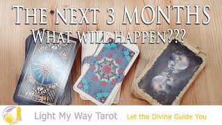 The Next 3 MONTHS What will happen/WHAT HE WANTS/Pick a Card/RELATIONSHIP/SOULMATE/TWIN FLAME/Love