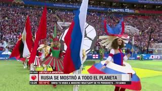 Impresionante acto de inauguración del Mundial de Rusia 2018