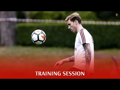 FULL TRAINING AT MILANELLO - AC MILAN (5/7/2017) | REPLAY MilanActu [HD]