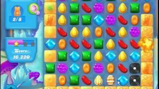 Candy Crush Soda Saga level 143 (3 star, No boosters)