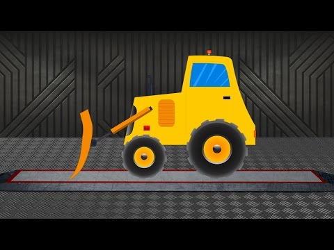 Bulldozer | Construction Vehicle | Learn transports