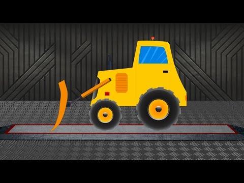 Bulldozer | Construction Vehicle | Learn transports
