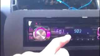 Crutchfield blue wire/lead for aftermarket stereo - 2007 Honda Fit After Market Stereo