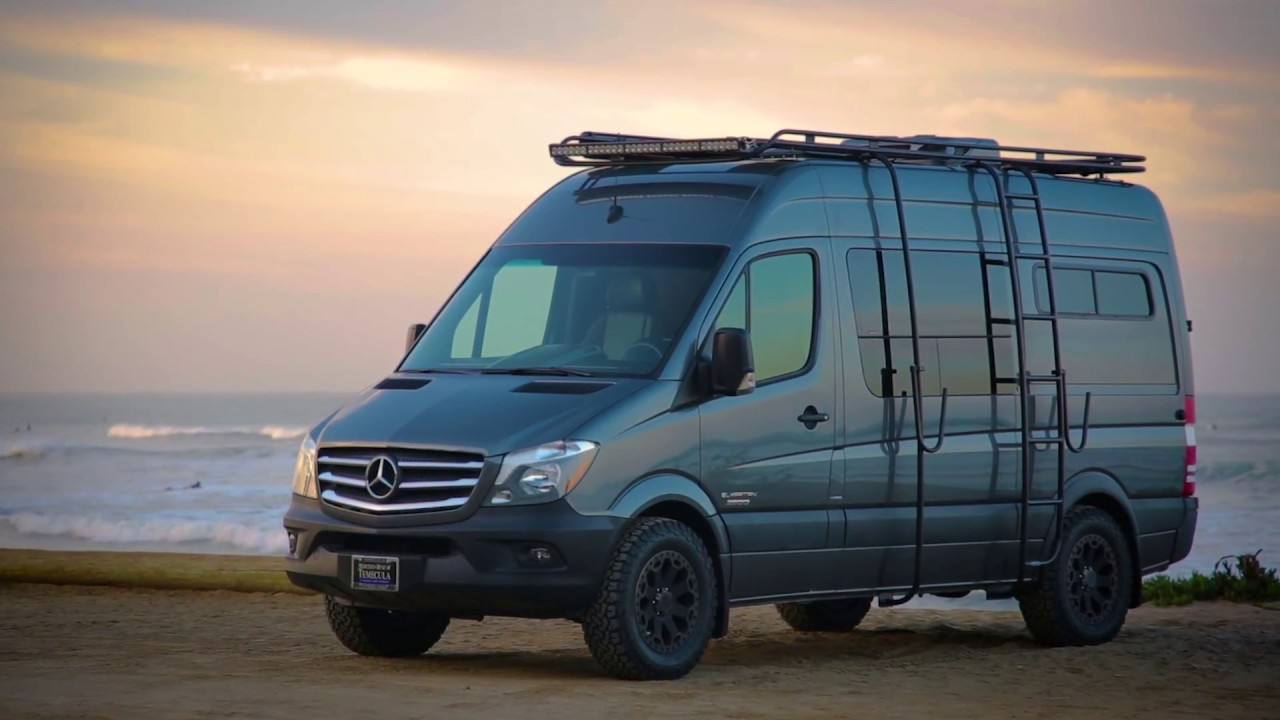 El kapitan camper van beach cruiser 144 mercedes benz for Mercedes benz sprinter conversion