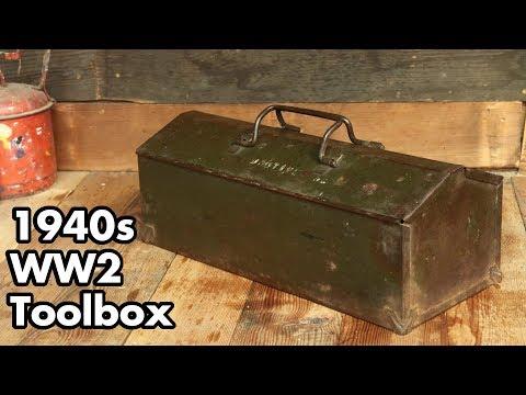 1940s WW2 Toolbox: