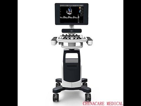 Chison doppler Echo QBIT5 scanning kidney