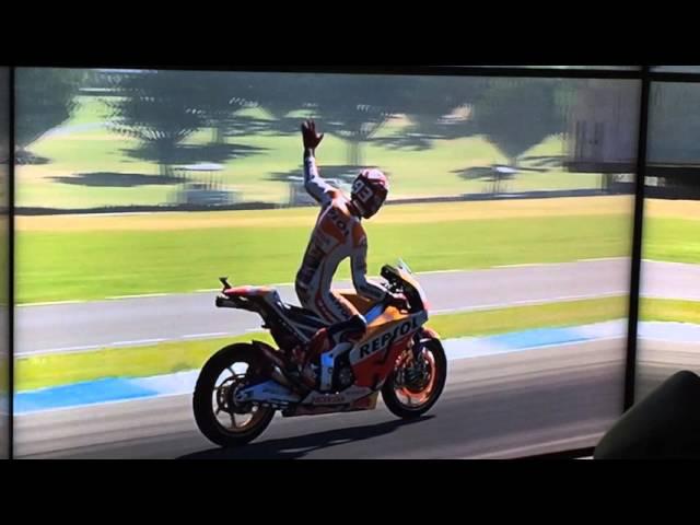 Simulador Honda CBR600rr Salão 2 Rodas - Alex Barros