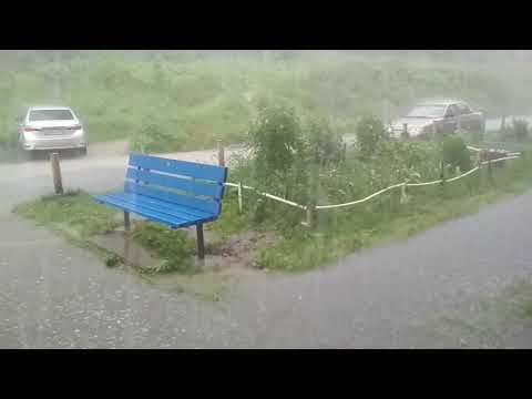 Пятница 13 , июль , Качканар накрыло водой