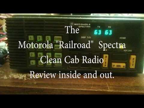"The Train Radio - Motorola ""Railroad"" Spectra"
