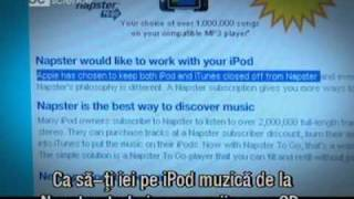 Apple iTunes, Last FM, Napster si Tesco, site-uri de muzica