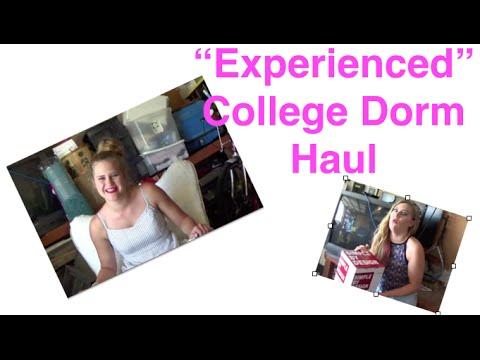 Experienced Dorm Room Haul