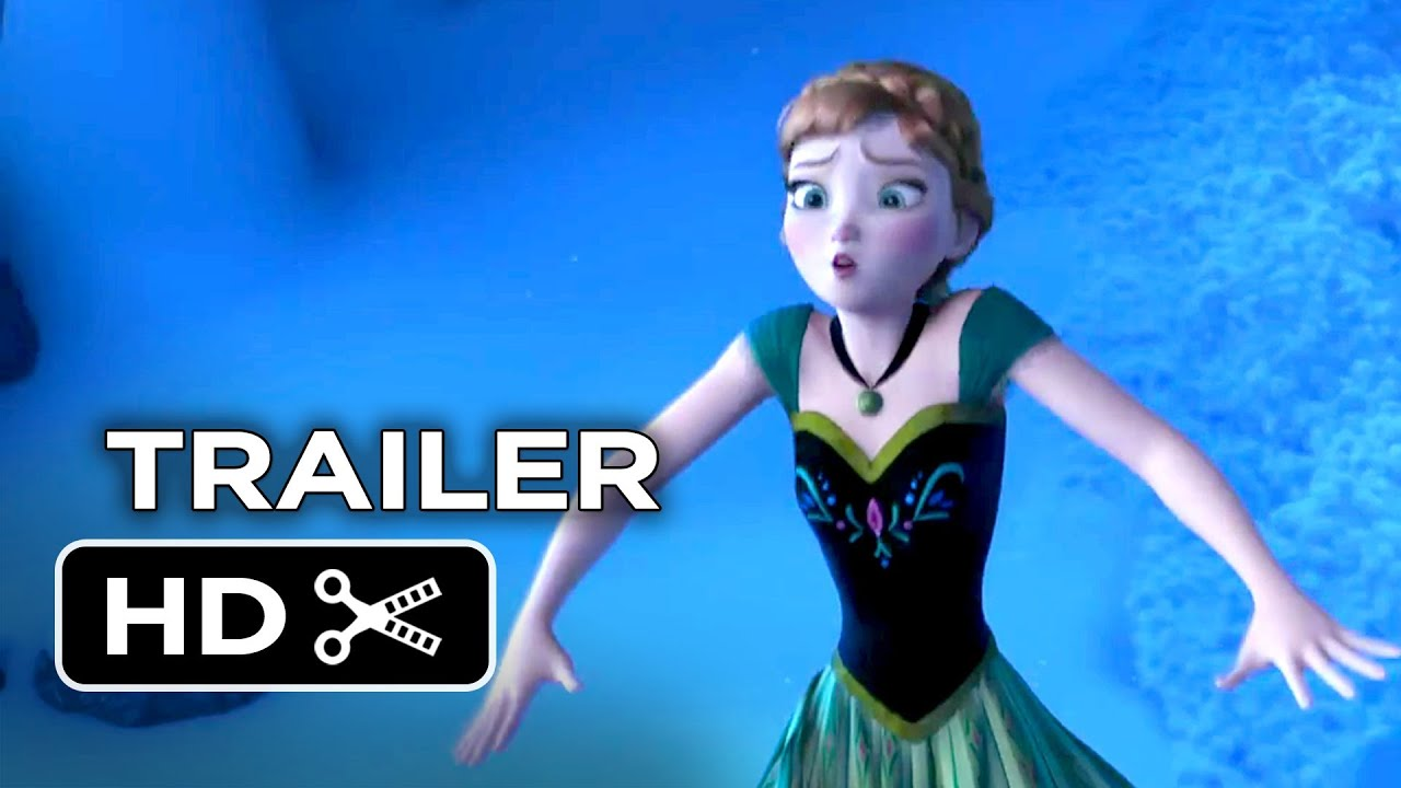 frozen official trailer #1 (2013) - disney animated movie hd - youtube