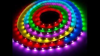 как подключить светодиодную ленту 12 вольт(, 2015-07-30T11:35:19.000Z)