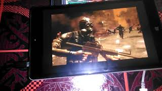 NUVISION 8 inch Tablet  TM800W610L  PC Game Test