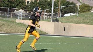 Gavin Goodrich 11 yr old - Class of 2021 - 5th Grade Football Highlights 2013