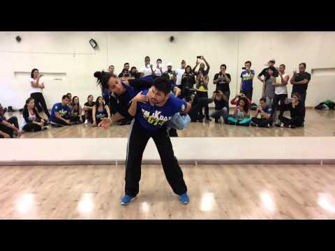 de Bases de Movimentos Acrobaticos na dança de salão