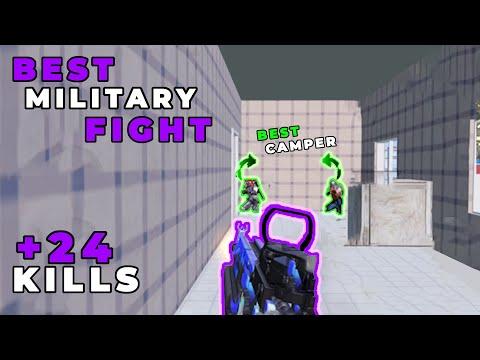 BEST MILITARY FIGHT | ERANGEL GAMEPLAY | PUBG MOBILE